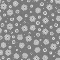 flocos de neve sem costura padrão branco. design de natal. imagem para embalagens de papel e têxteis de ano novo. vetor