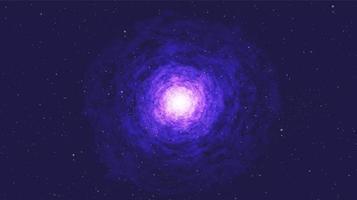 Vector a Via Láctea fantástica no design de conceito de plano de fundo, universo e galáxia do espaço.
