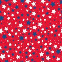 padrão uniforme de estrelas coloridas vetor