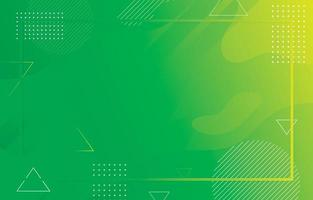 abstact minimalista fundo verde fluido vetor