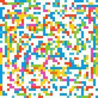 vetor sem emenda de mosaico colorido