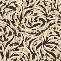 padrão sem emenda de formas abstratas rasgadas tricolor. textura para tecidos ou papel de embrulho vetor