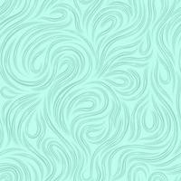 textura sem costura marinha de vetor para decorar tecidos ou papel de linhas cortadas, girando na forma de voltas e espirais em um fundo turquesa