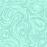 textura abstrata turquesa do vetor feita de espirais suaves e loops. fibra de madeira ou padrão trançado de mármore. ondas ou ondulações.