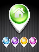 ícone de casa vetor