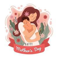 conceito do dia das mães vetor