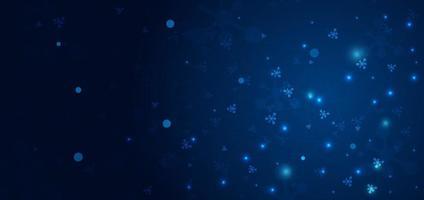padrão de molécula abstrata em fundo azul escuro. medicina e ciência, conceito de conexão de tecnologia. vetor