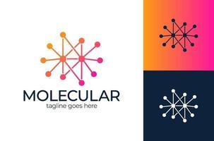 vetor de conceito de projetos de logotipo de tecnologia de pixel, símbolo de logotipo de internet de rede
