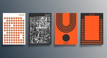 design minimalista abstrato para panfleto, cartaz, capa de brochura, plano de fundo, papel de parede, tipografia ou outros produtos de impressão. ilustração vetorial vetor