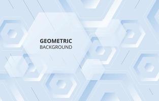 fundo de formas hexagonais abstratas vetor