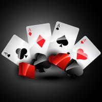 cartões de baralho de vetor