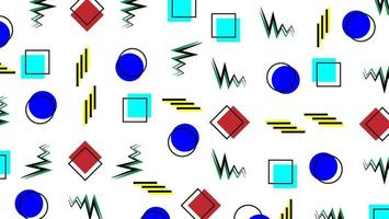 padrão com fundo geométrico vetor