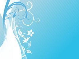 Ilustração, de, floral, fundo vetor