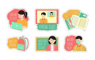 conjunto de adesivos escolares online