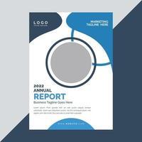 design de capa de folheto de negócios corporativos vetor