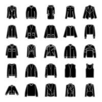 roupas de moda e inverno vetor