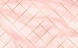 telhas de pedra, textura branca com fundo de mármore vermelho, linhas douradas - vetor