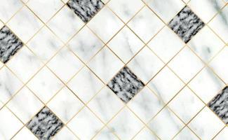 telhas de pedra, textura branca com fundo de mármore preto, linhas douradas - vetor