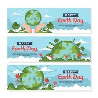 proteja a mãe terra reduzindo a poluição vetor