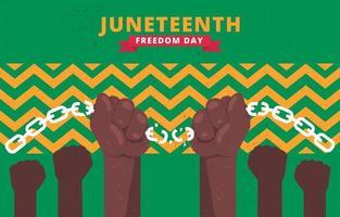 celebração da liberdade do décimo primeiro ano vetor