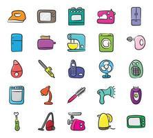 eletrodomésticos e eletrodomésticos vetor