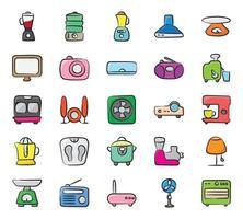 eletrodomésticos e utensílios de cozinha vetor