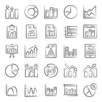 infográficos e gráficos vetor