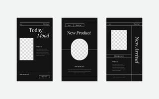 modelo de cartaz de feed de mídia social de folheto quadrado