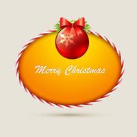 bola de Natal vetor