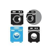 conjunto de vetores de máquina de lavar