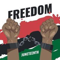 décimo primeiro dia da liberdade vetor