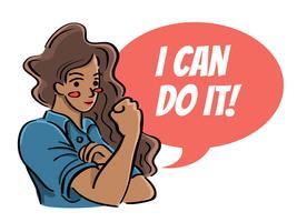 Mulheres de cor dizem que eu posso fazer isso