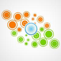 projeto da bandeira indiana vetor