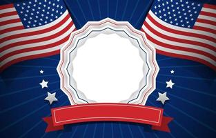 dia do memorial dos EUA vetor