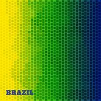 ilustração da bandeira do brasil vetor