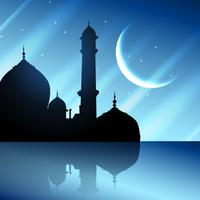projeto do festival muçulmano vetor