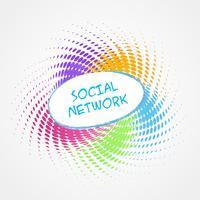 design de mídia social vetor