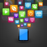 tablet de telefone inteligente