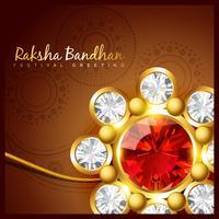 projeto do festival raksha bandhan vetor