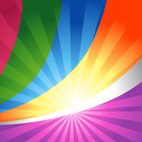 fundo colorido de vetor
