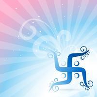 símbolo swastik vetor