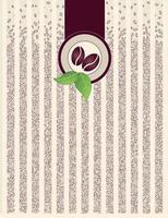 fundo listrado de grão de café