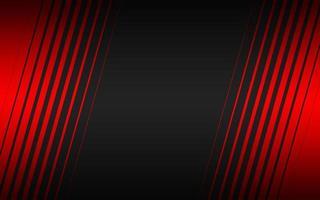 fundo preto do vetor com listras vermelhas. modelo moderno para o seu negócio e projetos. fundo widescreen abstrato