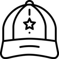 ícone de linha para tampa