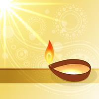 festival de diwali hindu vetor