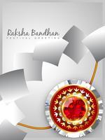 vetor de rakhi brilhante