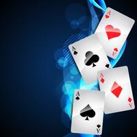 cartão de jogo vetor