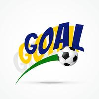 projeto de futebol de vetor