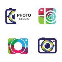 imagens do logotipo da câmera vetor