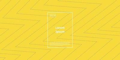 fundo moderno com elemento geométrico em zigue-zague na cor amarela